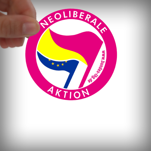 LHG - Sticker Liberale Aktion